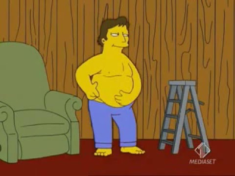 Simpsons - Grandi pantaloni blu