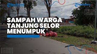 Petugas Kebersihan Libur, Sampah Warga Tanjung Selor Menumpuk hingga Tepi Jalan saat Hari Lebaran