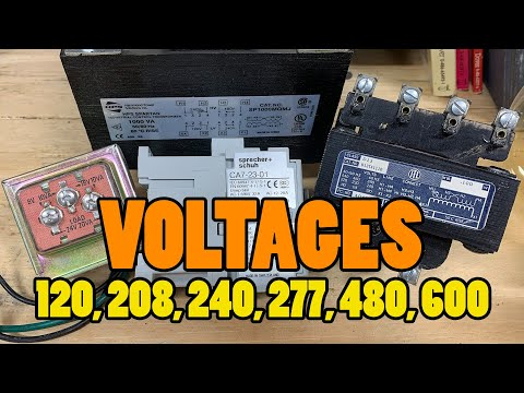 120v, 208v, 240v, 277v, 480v – Why So Many VOLTAGES? What's The Difference?