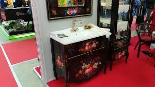 Идеи дизайна санузла. Мебель для ванной комнаты.