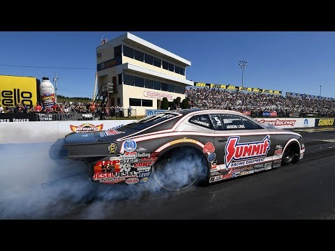 Jason Line gets his 50th Pro Stock win