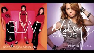 No More Partying - 3LW vs. Miley Cyrus (Mashup)