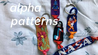 How To Read ALPHA Friendship Bracelet Patterns!