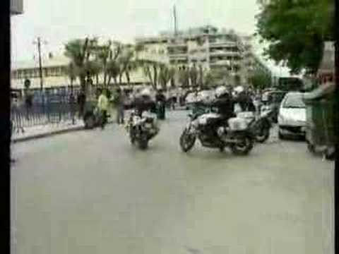 Pierwszy dzień w policyjnym zespole motocyklowym