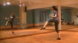 玲実先生のダンスレッスン〜リズム練習〜色んなリズムステップを知る②のサムネイル