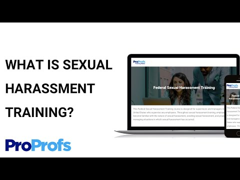 What Is Sexual Harassment Training? - YouTube