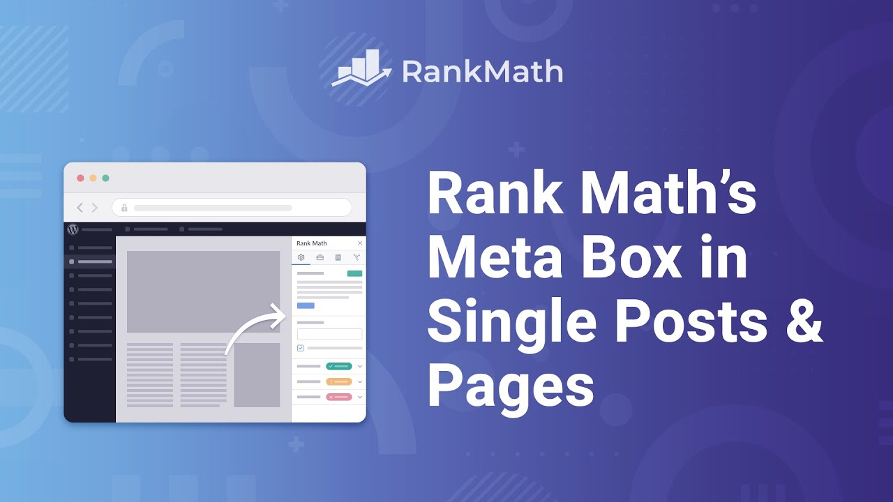 Understanding Rank Math's Meta Box Appearing in Single Posts & Pages - Rank Math SEO