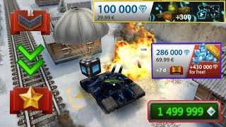 Tanki Online - Road To Legend  #1 New RTL Acc + Buying Bundle with Animated + Opening containers
