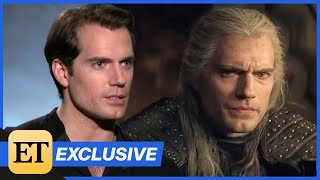 The Witcher: Henry Cavill Dishes on His Geralt of Rivia Transformation   Full Interview