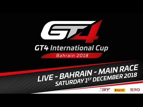 Main Race - GT4 International Cup 2018 - Bahrain