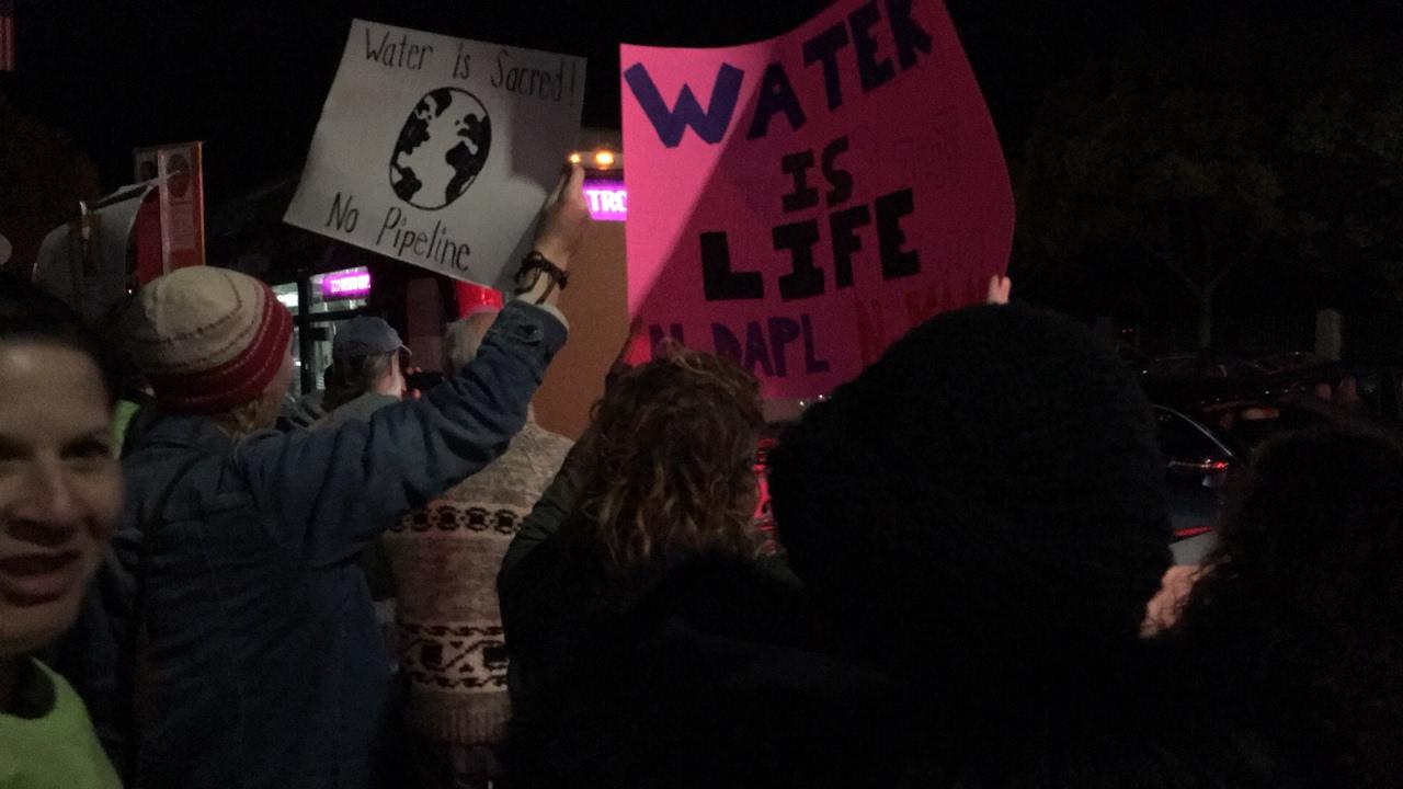 #NoDAPL #NoKXL March / Rally in Los Angeles part 2 thumbnail