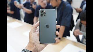 搞机零距离:iPhone 11 Pro现场体验 午夜绿色磨砂后盖你喜欢吗?