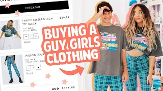 BUYING A GUY OUTFITS FROM ONLY GIRLS STORES