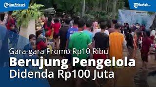 Pengelola Waterboom Lippo Cikarang Terancam Denda Rp100 Juta gara-gara Tiket Promo Rp10 Ribu