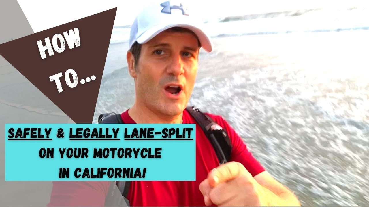 Safety & Legality Guidelines to Lane Split on Your Motorcycle in California