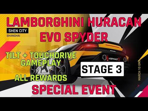 Etape 3 Lamborghini Huracan Evo Spyder événement spécial