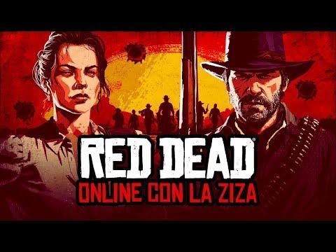 RED DEAD ONLINE CON LA ZIZA E LEO / MOMENTI EPICI CON DELU