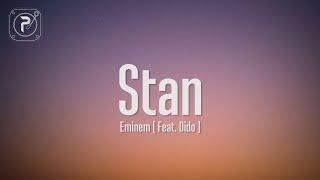 Eminem - Stan (Lyrics) ft. Dido