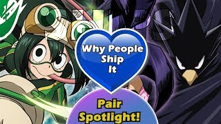 Why People Ship and Like Tokoyami And Tsuyu || My Hero Academia Anime Ships Explained[FIXED]