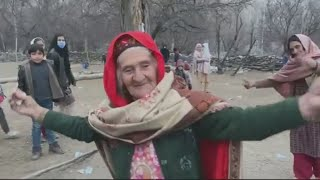 Amezing Dance Old Women At Punial Valley Distric Ghizer On Shina Song__GB Dance