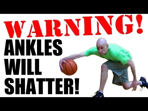 5 STIFF LEG Crossovers Tutorial! Basketball Moves To BREAK ANKLES! Mp3