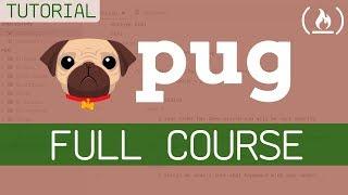 Pug Template Engine - Full Tutorial for Beginners