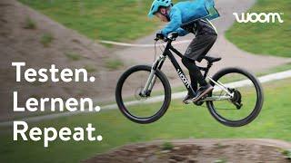 woom Mountainbikes im Härtetest: So helfen Kinder unseren Produktdesigner*innen