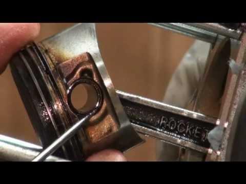Remove Piston from Zuma, BWs, Cygnus 125 Scooter: Part 2/4
