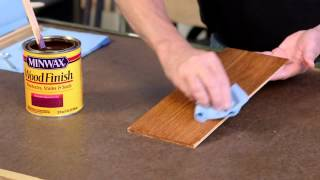 Finish Wood in 3 Easy Steps