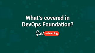 whats covered in devops foundation