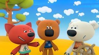 Ми-ми-мишки - Необитаемый остров. Серия 27. Прикольные мультфильмы для детей.
