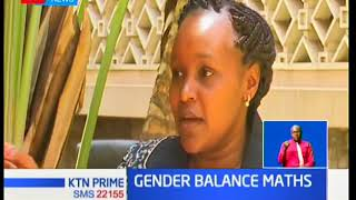 House majority leader Aden Duale introduces the 2/3rd Gender balance rule bill