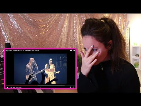 Vocal Coach REACTS to NIGHTWISH- PHANTOM OF THE OPERA- TARJA TURUNEN