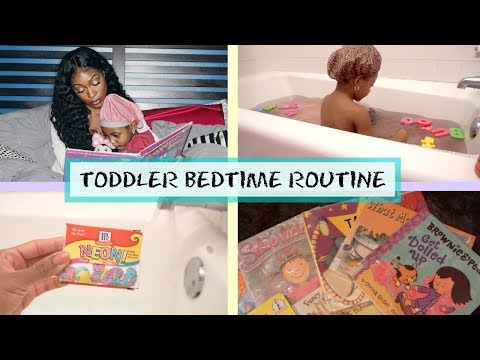 TODDLER NIGHT TIME ROUTINE |  BEDTIME HACKS FOR KIDS (LAVENDER, BATH TIME, STORIES)