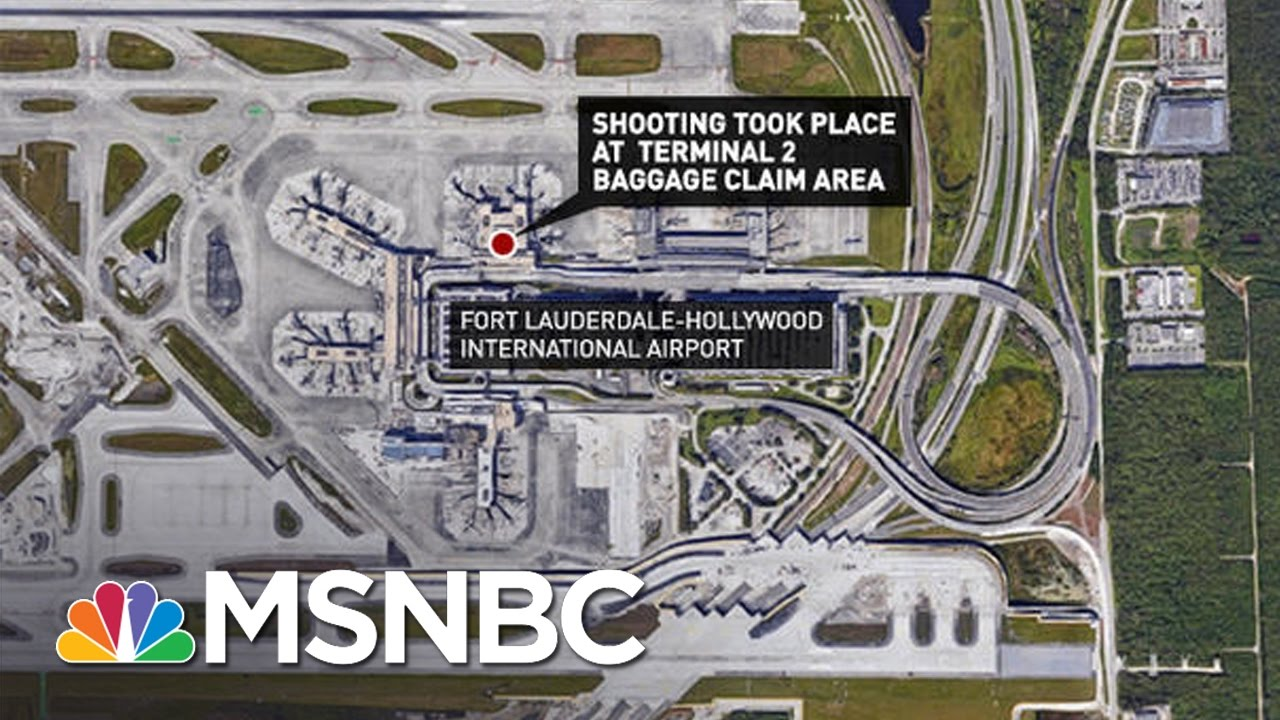 Witness To Fort Lauderdale Airport Shooting: 'He Was Shooting People In The Head' | MSNBC thumbnail