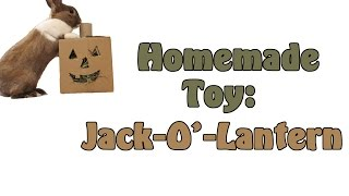 Homemade Toy: Jack-O-Lantern