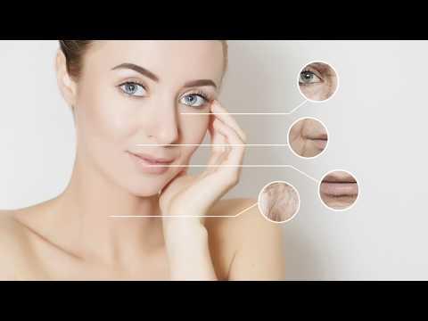 Cosmetics mula sa bag sa ilalim ng mata ng video
