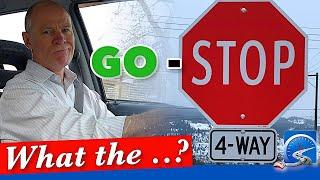 Right of Way Rules at 4 Way Stop