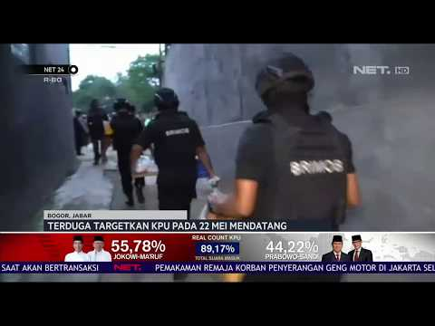 Tim Densus 88 Tangkap Terduga Teroris Alumni Anggota Isis NET24