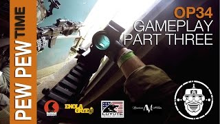 Robo-Airsoft: Pew Pew Time - OP 34: Gameplay Part Three - Airsoft Gameplay