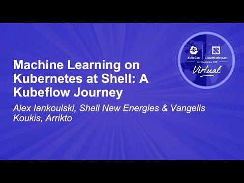 Image thumbnail for talk Machine Learning on Kubernetes at Shell: A Kubeflow Journey