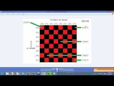 Video 27 - Tính tổng 2 đường chéo của ma trận
