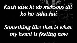 """Abhi Mujh Mein Kahin"" Lyrics & English Translation- Sonu Nigam- ""Agneepath"""