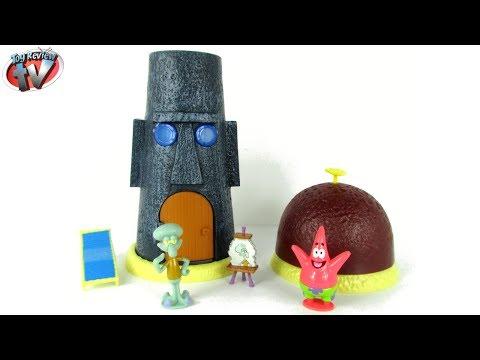 SpongeBob Squarepants Bikini Bottom Playset Toy Review, Simba