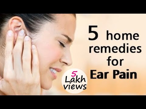 Video Get an Instant and Quick Relief from Your Ear Pain - Home Remedies for Ear Pain