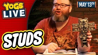 LEGO STUDS: STAR WAS Y-WING & SNOWSPEEDER BUILDS w/ Simon & Turps! - 13/05/19