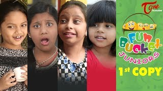 Fun Bucket JUNIORS | Episode 1 | Kids Funny Videos | TeluguOne | Comedy Web Series