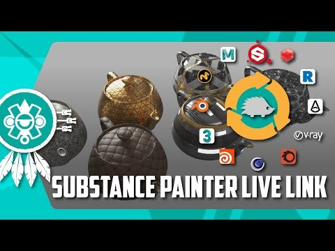 Substance Painter Live Link (Plugin) — polycount