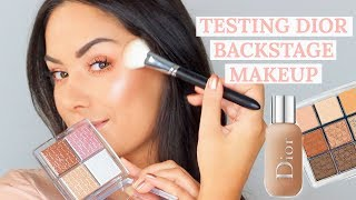 TESTING DIOR BACKSTAGE MAKEUP - WORTH THE COIN?! | Beautys Big Sister
