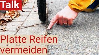 Nie mehr platte Reifen? - Drei Wege, um platte Fahrradreifen zu verhindern